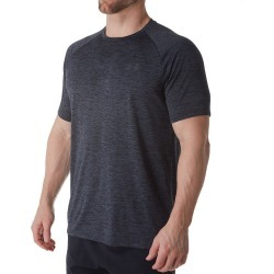 Under Armour 1326413 Tech 2.0 Short Sleeve T-Shirt (Carbon Heather/Black 3XL) found on Bargain Bro India from herroom.com for $25.00