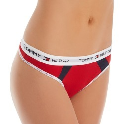 Tommy Hilfiger R11T086 Cotton Thong (Apple Red/Navy Blazer L) found on Bargain Bro Philippines from herroom.com for $13.95