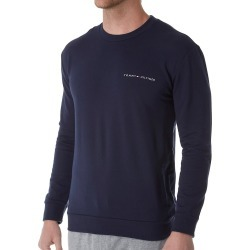 Tommy Hilfiger 09T3310 Modern Essentials French Terry Crew (Dark Navy M) found on Bargain Bro India from hisroom.com for $49.00