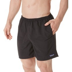 Patagonia 57021 Baggies 50 UPF Protection 5 Inch Swim Short (Black XL)