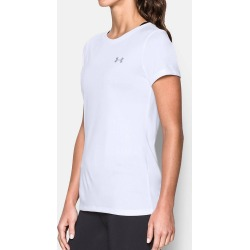 Under Armour 1277207 UA Tech Short Sleeve Crew Neck T-Shirt (White XL) found on Bargain Bro India from herroom.com for $24.98