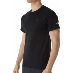 Champion T0223 Classic Athletic Fit Jersey Tee (Black M) found on Bargain Bro Philippines from hisroom.com for $20.00