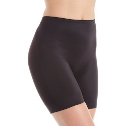 TC Fine Intimates 4176 adJUST Perfect Shaping Waistline Bike Short (Black XL)