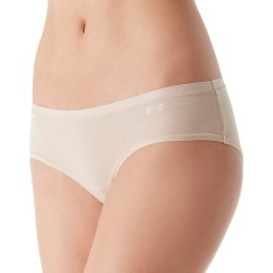 Under Armour 1276493 UA Pure Stretch Sheers Hipster Panty (Nude/White L) found on Bargain Bro India from herroom.com for $12.00