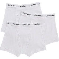 Calvin Klein NU2665 Cotton Stretch Trunks - 3 Pack (White M) found on Bargain Bro India from hisroom.com for $42.50