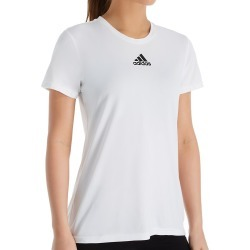 Adidas 12H5 Creator Climalite Short Sleeve Crew Neck Tee (White XS) found on Bargain Bro India from herroom.com for $25.00