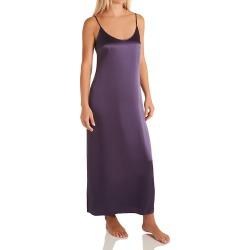 La Perla 20292 Seta Silk Long Nightgown (Dusty Violet S) found on MODAPINS from herroom.com for USD $262.00