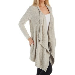 UGG 1106389 Phoebe Fluffy Sweater Wrap Cardigan (Driftwood L) found on Bargain Bro from herroom.com for USD $89.68