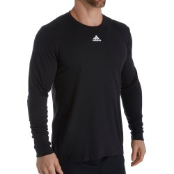 Adidas 629T Go-To Performance Slim Fit Long Sleeve T-Shirt (Black XL) found on MODAPINS from hisroom.com for USD $30.00