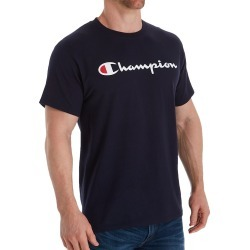 Champion GT23H Classic Graphic Logo Jersey T-Shirt (Navy S) found on Bargain Bro Philippines from hisroom.com for $25.00