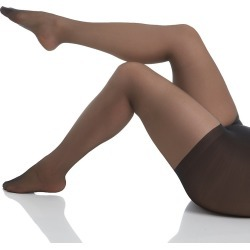 Hanes 00P16 Silk Reflections Plus Sheer Control Top Pantyhose (Jet 1) found on Bargain Bro Philippines from herroom.com for $11.00