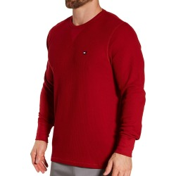 Tommy Hilfiger 09T3585 Thermal Long Sleeve Crew Neck Shirt (Beet Red 2XL) found on Bargain Bro Philippines from hisroom.com for $32.50