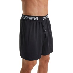 Stacy Adams SA1000 Moisture Wicking ComfortBlend Boxer Short (Black 2XL) found on Bargain Bro India from hisroom.com for $13.30