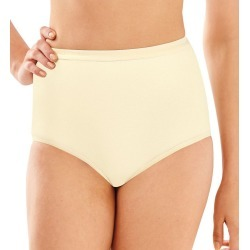 Bali 2324 Full-Cut-Fit Stretch Cotton Brief Panty (Moonlight 6) found on Bargain Bro India from herroom.com for $11.00