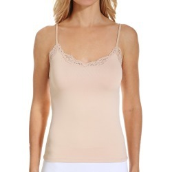 Only Hearts 4917L Delicious Camisole with Adjustable Lace Straps (Parchment M) found on Bargain Bro Philippines from herroom.com for $58.00