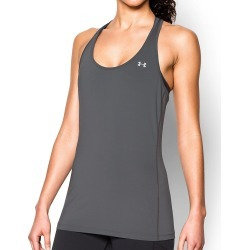 Under Armour 1271765 UA HeatGear Armour Racer Tank (Charcoal Light Heather M) found on Bargain Bro India from herroom.com for $24.98