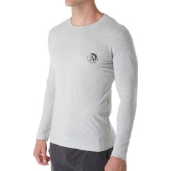 Diesel CP7CTARI Justin Long Sleeve Lounge Shirt (Grey 2XL) found on Bargain Bro Philippines from hisroom.com for $11.99