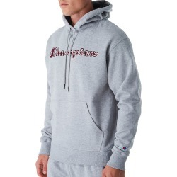 Champion GF89H-2 Graphic Powerblend Fleece Hoodie w/Applique (Oxford Gray 2XL) found on Bargain Bro Philippines from hisroom.com for $38.00