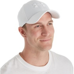 Under Armour 1254123 Blitzing II Stretch Fitted Cap (White XL/XXL) found on Bargain Bro India from hisroom.com for $21.98