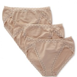 Natori 152058P Bliss French Cut Panties - 3 Pack (Cafe XS) found on Bargain Bro from herroom.com for USD $36.48
