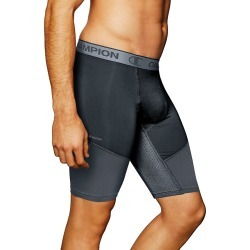 Champion 84956 PowerFlex Performance 9 Inch Compression Short (Stealth/Stormy Night XL)