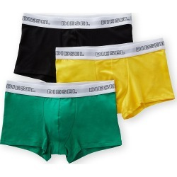 Diesel CKY3AAST Korey Boxers - 3 Pack (Green/Black/Yellow XL) found on Bargain Bro Philippines from hisroom.com for $19.95
