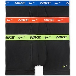 Nike KE1108 Everyday Stretch Boxer Trunks w/ Fly - 3 Pack (Volt/Orange/Royal L) found on Bargain Bro India from hisroom.com for $35.00