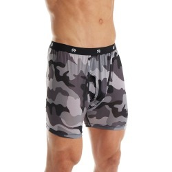 Stacy Adams SA1802 Camo Print Boxer Brief (Black M) found on Bargain Bro India from hisroom.com for $9.95