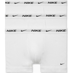 Nike KE1002 Everyday Cotton Trunks - 3 Pack (White L) found on Bargain Bro India from hisroom.com for $35.00