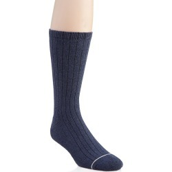 UGG 1106758 Murphy Ribbed Crew Sock (Navy Heather O/S) found on Bargain Bro Philippines from hisroom.com for $18.00