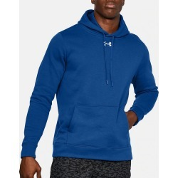 Under Armour 1300123 Hustle Fleece Pullover Hoody (Royal/White 2XL) found on Bargain Bro India from hisroom.com for $44.98