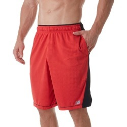 New Balance MS81043 Tenacity Knit Performance Short (Team Red 2XL) found on Bargain Bro India from hisroom.com for $29.95