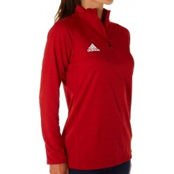 Adidas 12GS Climalite Game Mode Performance 1/4 Zip (Power Red XL) found on Bargain Bro Philippines from herroom.com for $60.00