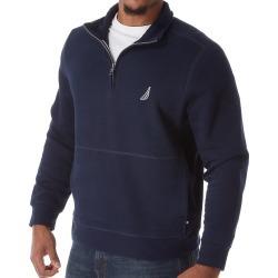 Nautica Z83172 Big Man Fleece Long Sleeve 1/4 Zip Pullover (Navy 2XL)