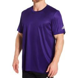 Adidas 123R Clima Tech Regular Fit T-Shirt (Collegiate Purple 4XL) found on Bargain Bro from hisroom.com for USD $11.40
