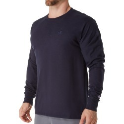 Champion T2978 Classic Athletic Fit Jersey Long Sleeve Tee (Navy XL)