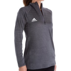 Adidas 12GS Climalite Game Mode Performance 1/4 Zip (Grey Five Melange M) found on Bargain Bro Philippines from herroom.com for $60.00