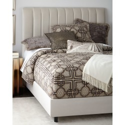 Mystic Queen Channel-Tufted Bed
