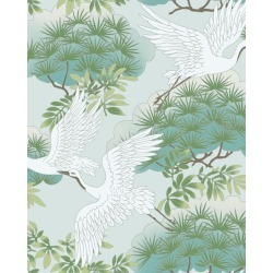 Sprig & Heron Wallpaper Sample found on Bargain Bro India from horchow.com for $3.00