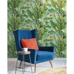 Banana Leaf Wallpaper found on Bargain Bro India from horchow.com for $100.00