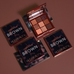 Huda Beauty Brown Obsessions Eyeshadow Palettes in Chocolate - Shop Now found on MODAPINS from Huda Beauty for USD $29.00