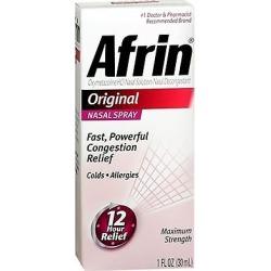 Afrin Nasal Spray Original 30 Ml (pack Of 3)
