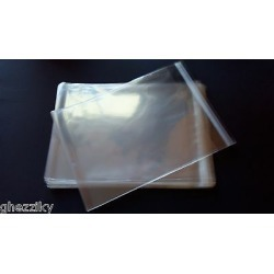 300 A2 4 3/8 X 5 3/4 Clear Cellophane Poly Envelopes Plastic Crystal Cello Bags