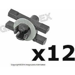 Bmw E10 2002tii Clip For Upper Belt Mouldings (12) + 1 Year Warranty