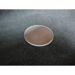 43.50 Mm Flat Glass Crystal Watch / Clock Parts
