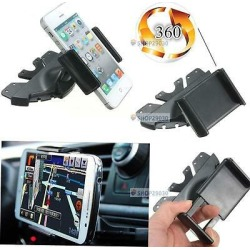 Universal Car Cd Slot Phone Mount Holder Stand For Mobiles Iphone Android Bτ