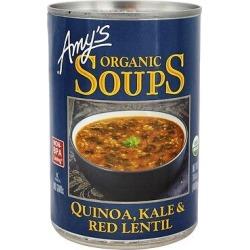 Amy's - Organic Soup Quinoa, Kale & Red Lentil - 14.4 Oz.