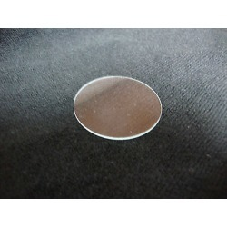 48.50 Mm Flat Glass Crystal Watch / Clock Parts