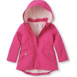 Anorak Jacket Sz 3t 4t In Aurora Pink The Childrens Place