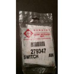 Genuine Whirlpool Fsp 279347 Washer Lid Switch